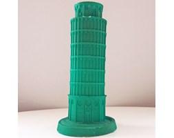 Candellana The Leaning Tower Of Piza Candle świeca dekoracyjna Krzywa Wieża w Pizie Outlet II gatunek - Green Pearl
