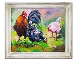 Zwierzęta - Kogut  i kury - 53x64 cm - G16275