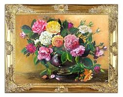 Róże - Różana amfora - 37x47 cm - G01791