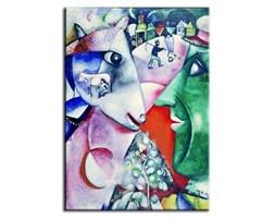 Marc Chagall - Ja i wieś - 50x70 cm - G92556