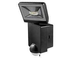 Reflektor LED z czujnikiem ruchu LUXA 102-140 LED  8W czarny