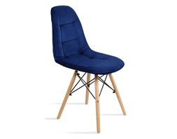 krzesło Fabio Velvet granatowy Bettso