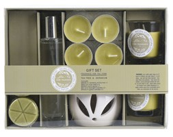 Zestaw zapachowy 10 elementów, drzewo herbaciane  geranium