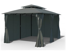 Pawilon ogrodowy Comfort, 3x4 m, Antracytowy