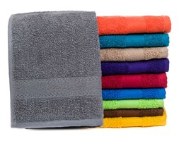 """Ręcznik """"Sienna"""" - 50x80 cm - pomarańczowy"""
