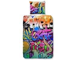 Good Morning Zestaw pościeli 5481-P GRAFFITI 135 x 200 cm kolorowy