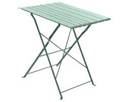 Stolik balkonowy, składany, prostokątny stół do ogrodu, kolor miętowy