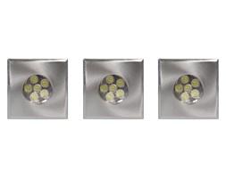 Lucide 11945/23/31 - ZESTAW 3xLED Oprawa wpuszczana DECK-LIGHT 3xLED/3W/12V