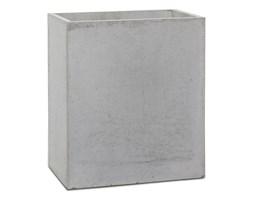 Donica betonowa LINEA S 35x22x40 szary naturalny