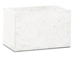 Donica betonowa S 24x14x15 biały