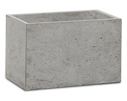 Donica betonowa S 24x14x15 szary naturalny