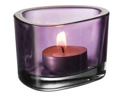 Świecznik fioletowy Leonardo Organic 036664 - do kupienia: www.superwnetrze.pl