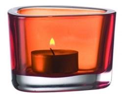 Świecznik pomarańczowy Leonardo Organic 036683 - do kupienia: www.superwnetrze.pl