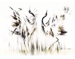 Nowoczesny obraz żurawi idealny dla par - Taniec, Seria Londyn.