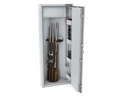 Szafa na broń długą MLB narożna EL S1 Konsmetal - zamek elektroniczny