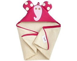 Ręcznik dziecięcy z kapturem 3 sprouts słoń