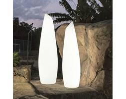 FREDO-Lampa podłogowa zewnętrzna LED RGB solarna akumulatorowa Wys.170cm