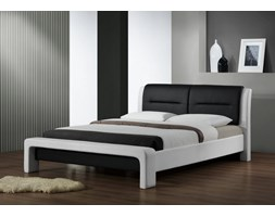CASSANDRA 120 cm łóżko biało-czarny