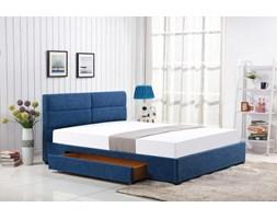 MERIDA łóżko z szufladą niebieski