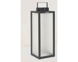 TINKA TRADITION-Lampa zewnętrzna LED akumulatorowa i solarna Aluminium Wys.65cm