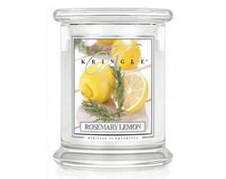 Kringle Candle - Rosemary Lemon - średni, klasyczny słoik (411g) z 2 knotami kod: 846853049007