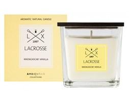Świeca zapachowa madagascar vanilla 8x8cm Lacrosse żółta kod: ZVV045VNLC