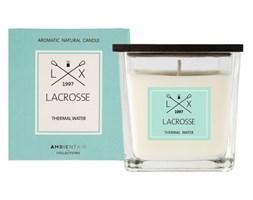 Świeca zapachowa Thermal Water 8x8cm Lacrosse niebieska kod: ZVV045TWLC