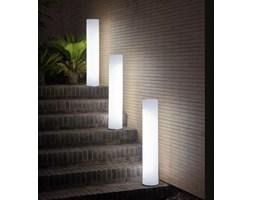 FITY-Lampa podłogowa zewnętrzna / Kolumna świecąca LED RGB solarna akumulatorowa Wys.102cm - Lampy stojące zewnętrzne