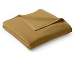 Koc bawełniany Biederlack Uno Cotton Kamel