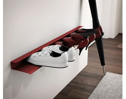 Półka na buty BOOT czerwona