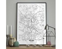 DecoKing - Plakat ścienny – Map – Kraków