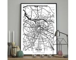 DecoKing - Plakat ścienny – Map – Wrocław