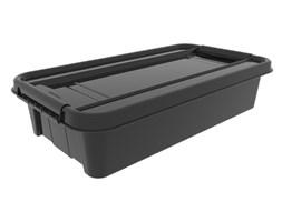 Pojemnik pod łóżko Pro box 31 L z recyklingu Plast-Team