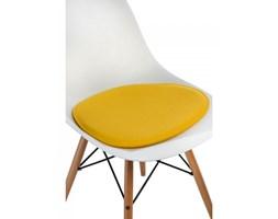 Poduszka na krzesło Side Chair żółta kod: 5902385712057