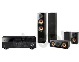 Yamaha MusicCast RX-V485 (czarny), Pure Acoustics NOVA 6 (czarny)- szybka wysyłka! - Raty 30x0%