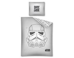 Pościel bawełniana 160x200 Star Wars Gwiezdne Wojny szara