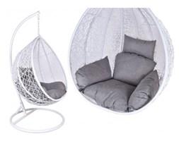 Fotel wiszący ogrodowy Canari Max  biało-szary