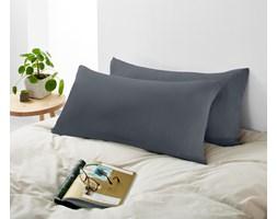 Dżersejowe poszewki na poduszki, 2 sztuki, po ok. 80 x 40 cm