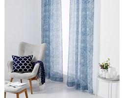 Niebieskie zasłony ze wzorem paisley, 2 sztuki