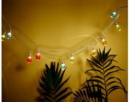 Łańcuch świetlny LED w kształcie żarówek z funkcją timera