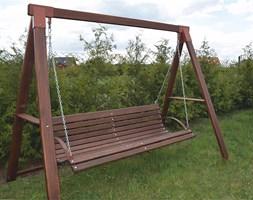 huśtawka ogrodowa magis 3x - 160 cm