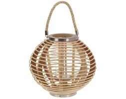 Latarnia latarenka bambusowa 32x28 cm