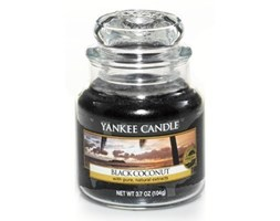 Yankee Candle świeca zapachowa Black Coconut słoik mały