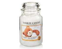Yankee Candle świeca zapachowa Soft Blanket słoik duży