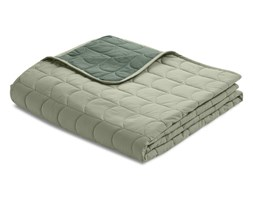 Narzuta na łóżko dwustronna, pikowana, 100% bawełna 230x130