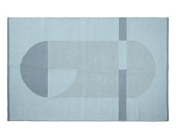 Pled ręcznie wyplatany, bawełna 100%, 180x120, niebieski