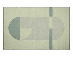 Pled na podłogę, bawełniany, ręcznie wylatany, 180x120cm, zielony