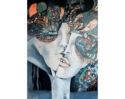 plakat - Mistrz i Małgorzata - Główka się stoczy - 50x70 cm