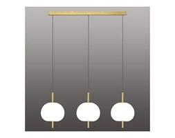 Ekskluzywna lampa LED wisząca złoto biał a - APPLE 3 kod: 5902249032697