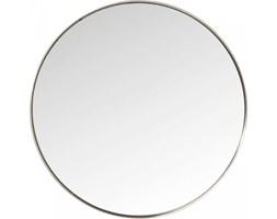 Lustro Curve Round srebrne